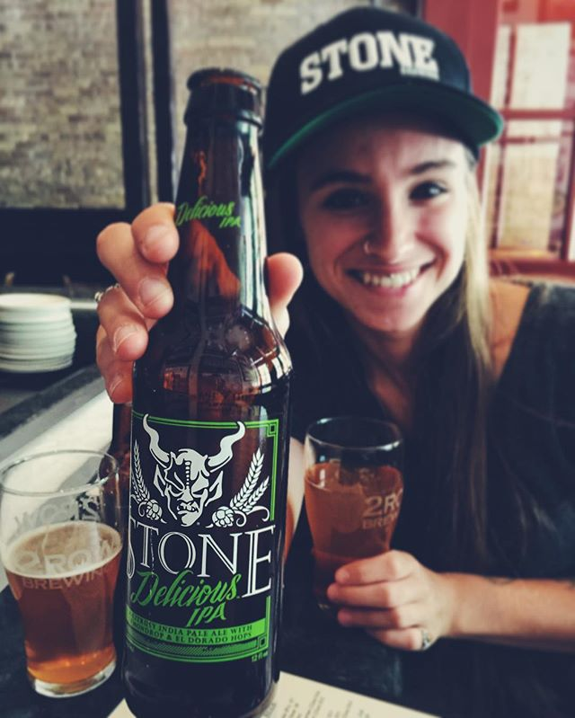 Little excited stone made it to Utah. #stonebrewery #saltlakecity #beerhive