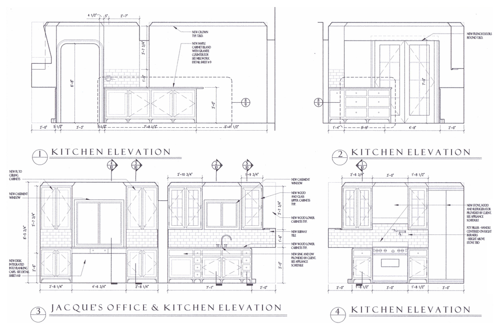 Kitchen Elevations