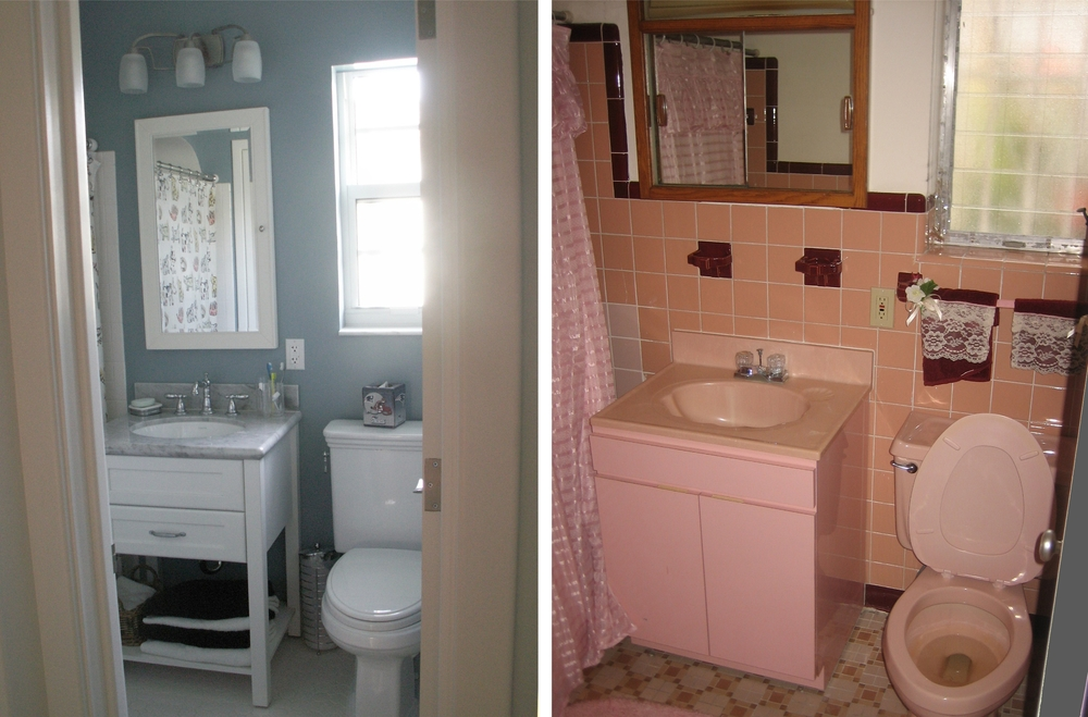 Guest Bath (After & Before)