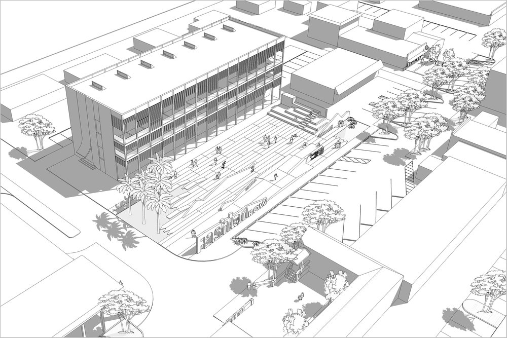 Central Plaza and Mixed Use Building (final phase)
