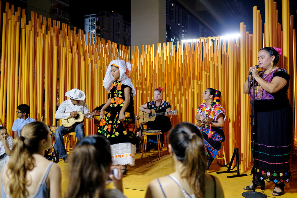 A Live Performance During Art Basel Miami Weekend (band: Ameyal)