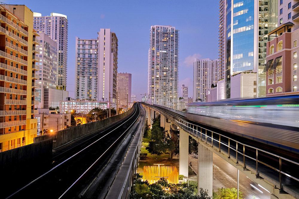 From the Metrorail Platform