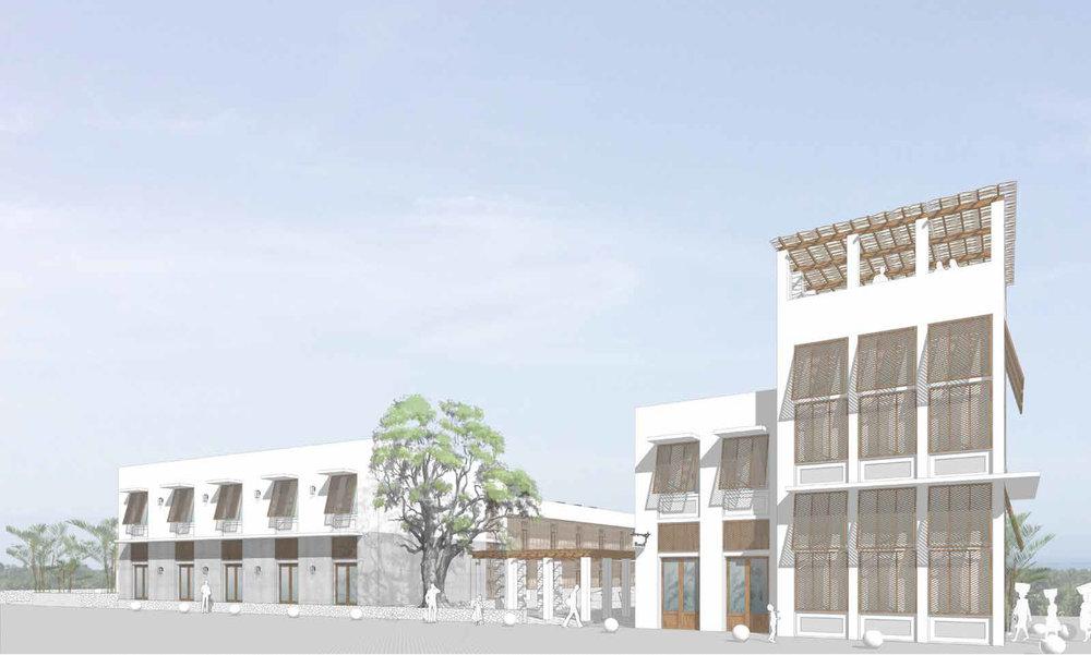 Hotel and Culinary Institute (Design by Jose Venegas)