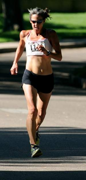 Photo Credit: Fort Collins Coloradoan   Jane Welzel's running accomplishments   Five-time Olympic Trials marathon participant (1984, 1988, 1992, 1996 2000).  U.S. marathon champion (2:33:24)  1996 USA Track and Field 25K champion (1:29:47)  1996 and '97 USATF Master Runner of the year  Winner of the 1992 Grandma's Marathon (personal best 2:33:01)  Winner of the 1979 Nittany Valley Marathon (2:48:47)  Winner of the 1983 Philadelphia Marathon (2:36:18)  Winner of the 1988 Hokkaido Marathon (2:40:53)  1988 Runner's World Comeback Runner of the Year   2013 Colorado Runners Hall of Fame