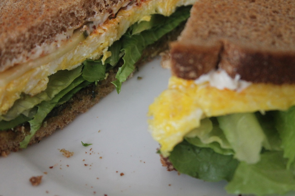 Gotta love a good breakfast sandwich.