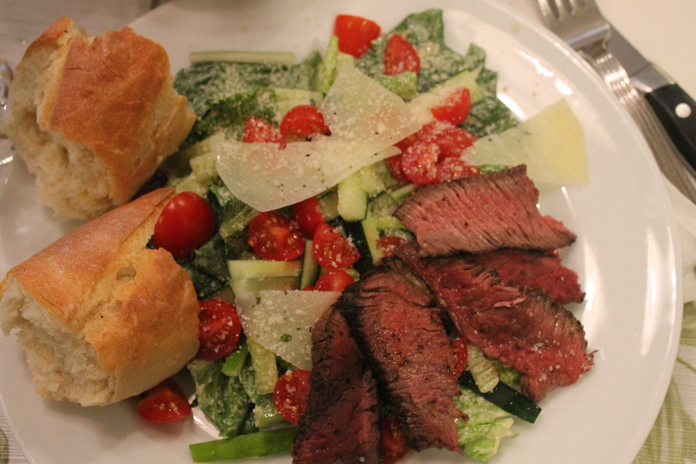 Steak Caeser Salad