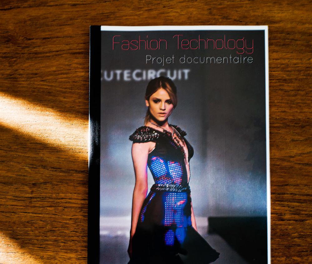 """Projet de documentaire """"Fashion Technology"""" by Le boudoir numérique."""