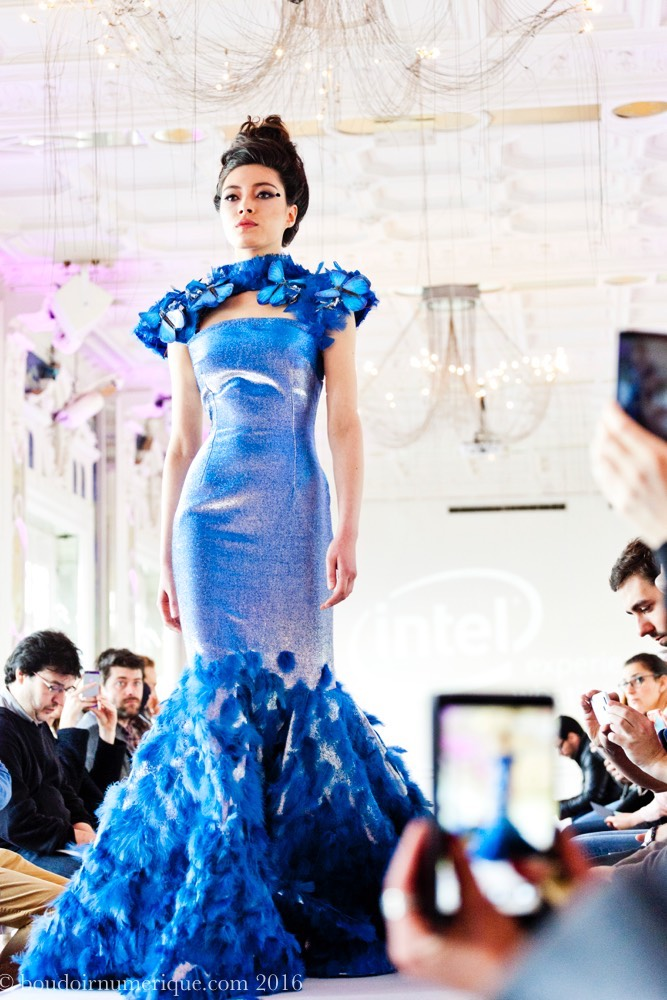 Butterfly Dress de Tuba et Ezra Çetin avec Intel