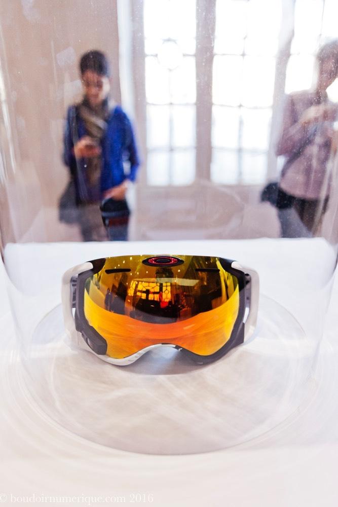 Masque connecté Oakley Snow avec Intel