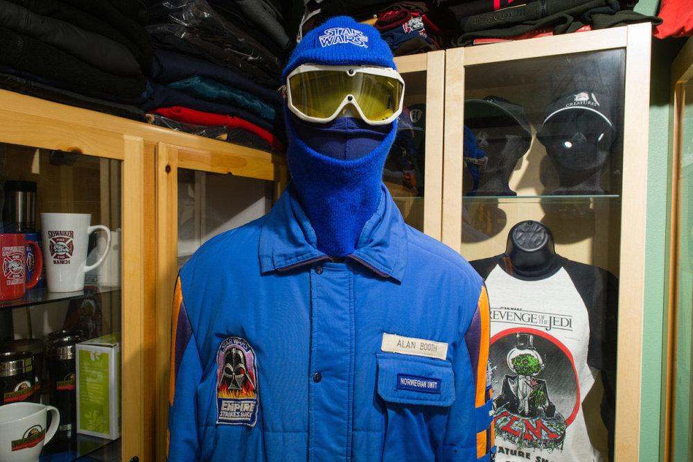 L'une des deux vestes possédées par le collectionneur Gus Lopez (©Starwars.com)