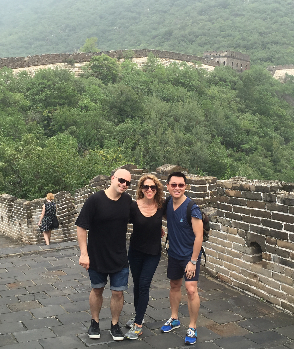 New Yorkers on the Great Wall, with Claudio Cina and Chee Chung