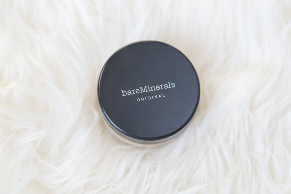 I've been using this foundation for years. It's light on my skin, and not filled with chemicals which is a huge plus. It gives you as much or as little converage as you choose, and leaves your skin glowing. Find Bare Minerals Original Foundation  HERE