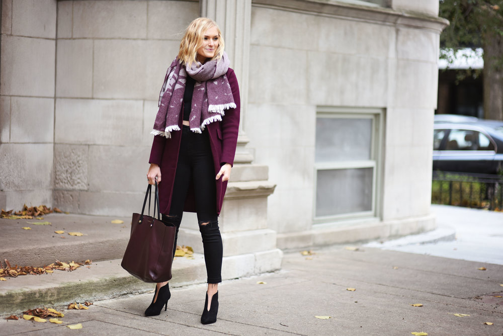 burgundy-sweater-and-scarf