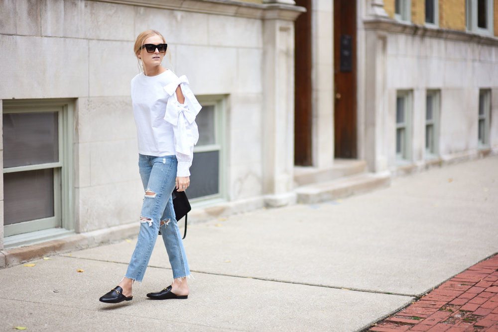 ali-stone-white-top-distressed-jeans-gucci-shoes