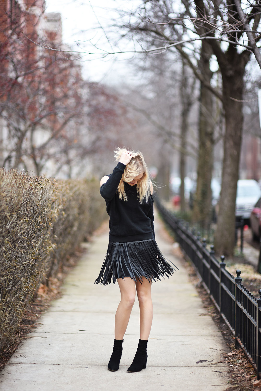 Clover Skirt &  Maia Sweatshirt