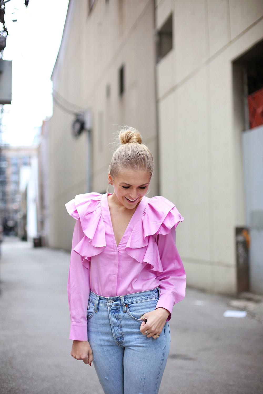 pink-ruffle-top