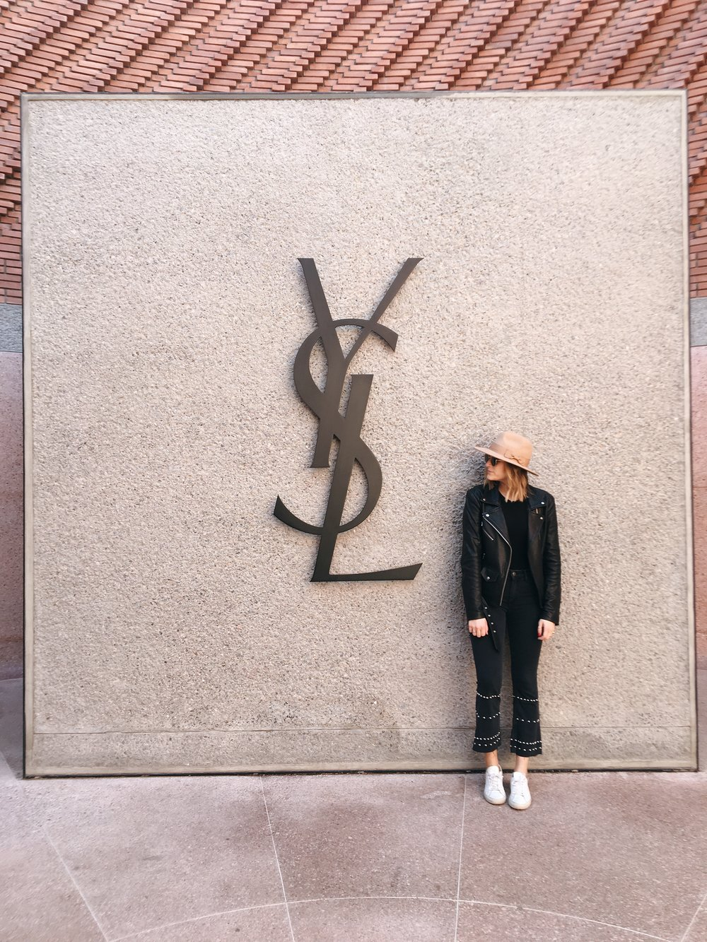 Jeans:  MIH , T Shirt:  N philanthropy , Jacket:  Veda , Hat:  Alice and Wonder , Shoes:  Common Projects