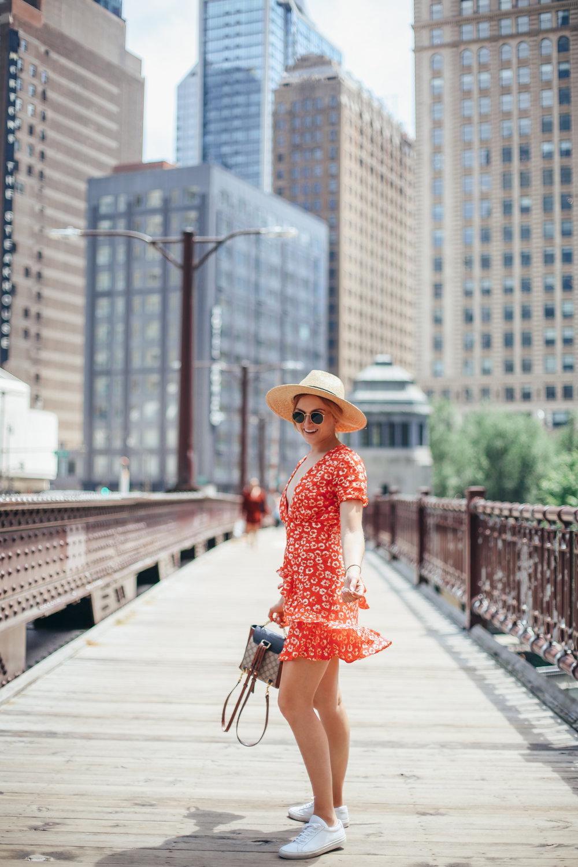 floral dress for festival season