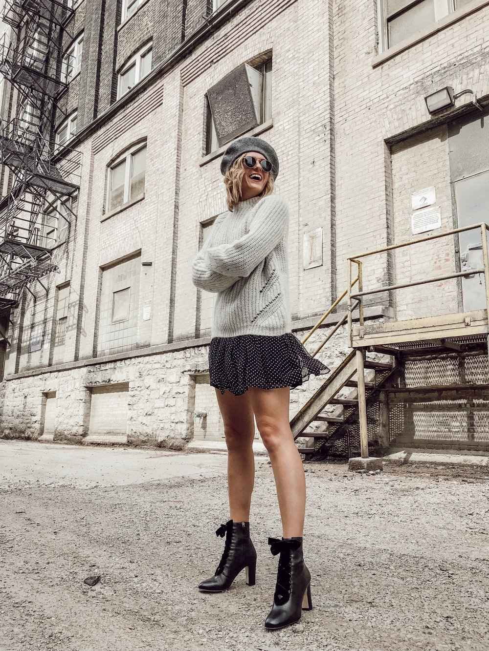 ced8cc6a1ff I styled 3 different Fall looks all accessorized with THIS great beret by  Hat Attack to give ya ll some Fall outfit inspo and ideas for how to style  your ...