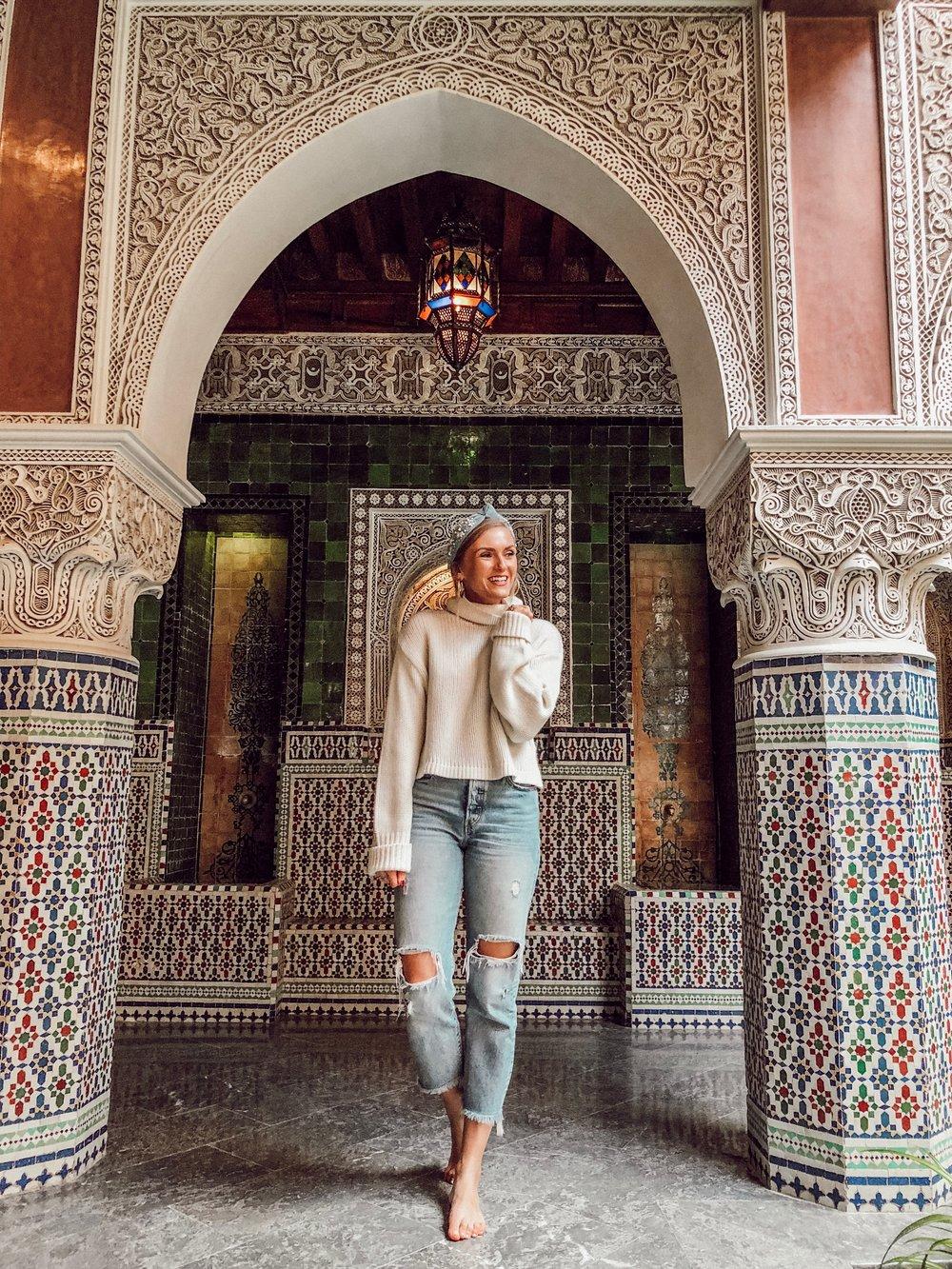 Travel Wardrobe Marrakech