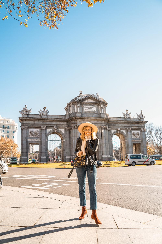 At   Puerta de Alcalá