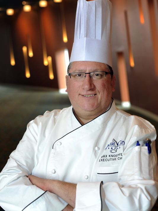 Max Knoepfel, executive chef of the Music City Center, will cook healthy snacks during Healthy Hispanic Families Day. (Photo: George Walker IV / The Tennessean )