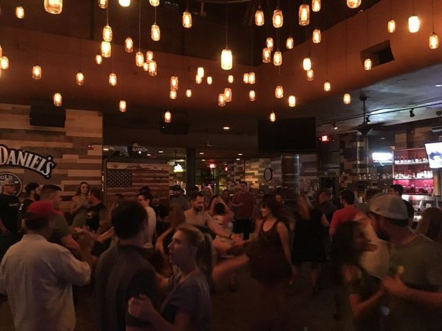 CBC Phoenix havin' fun out at Moonshine gettin' their country dance on! Happy Birthday shoutouts to @never_tellmethe_odds @kdanaher202 @emeelski #catholicbeerclub #cbcphoenix #beer #noagendas #catholic #friendship