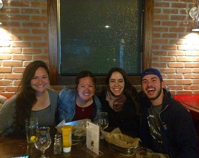 This crew doesn't look like they had any fun this weekend 🍻🍻🙏🏼 #catholicbeerclub #noagendas #friendship #cbckansascity #allsmiles #beer #brewpub 📷cred: @persianabe