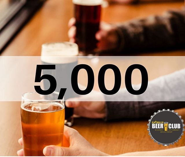 We've been busy! Thanks for all the support and friendship. Remember. There's never any agendas. Just community and relationships. #catholicbeerclub #cbcphoenix #cbcdallas #cbctulsa #cbcdesmoines #cbcfargo #cbckansascity #cbcdenver #cbchonolulu