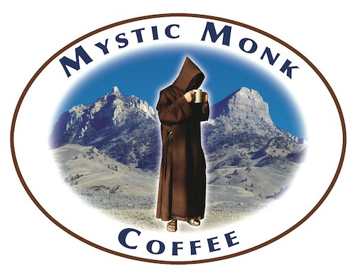 Coffee provided by Mystic Monk (they pray for everyone who drinks their coffee!)