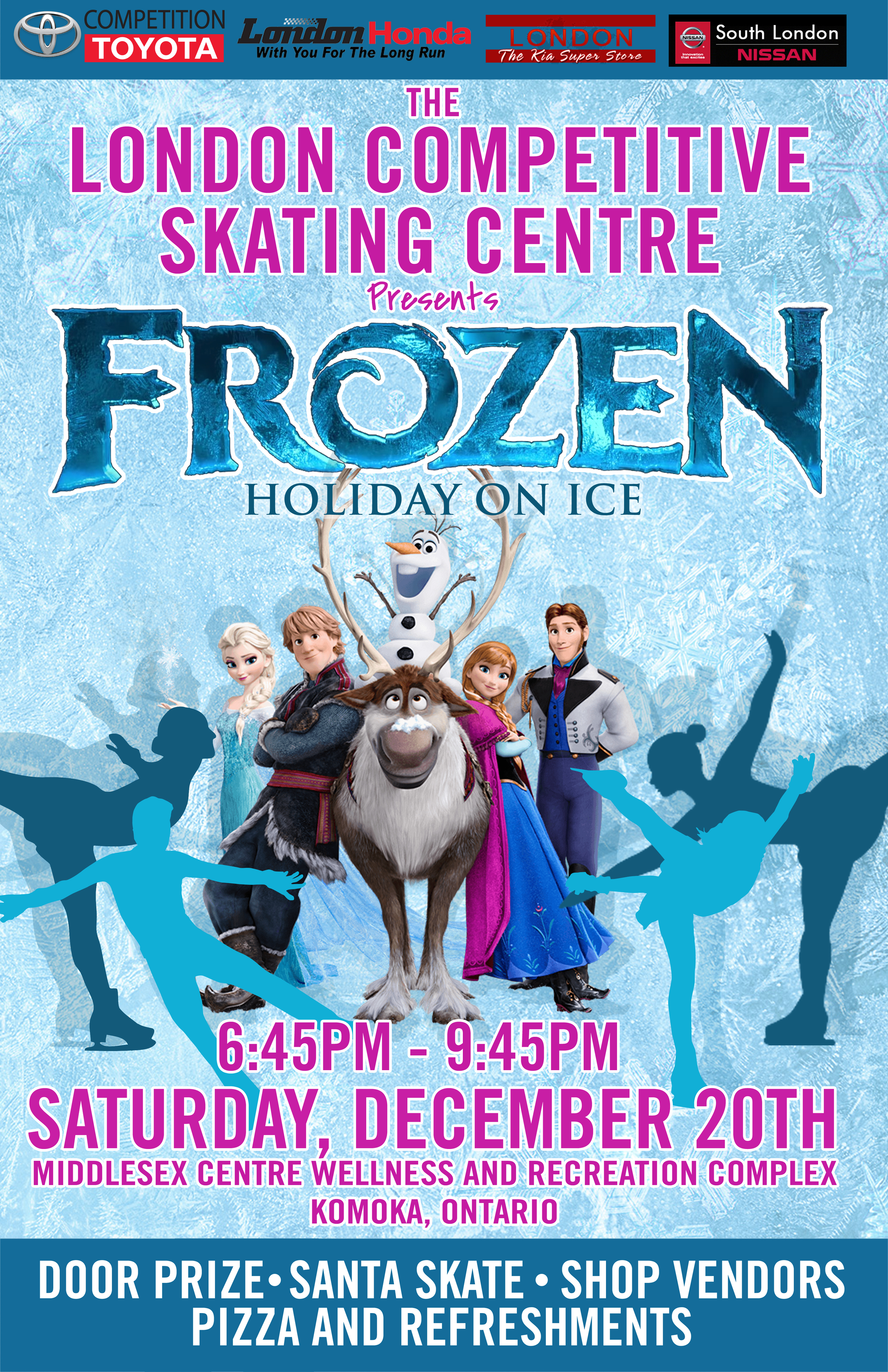 Upcoming Events — London Competitive Skating Centre