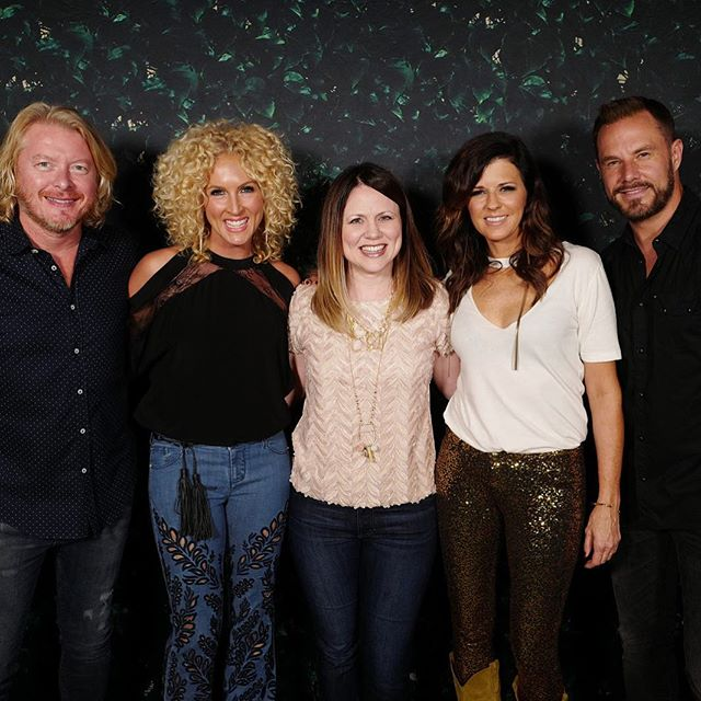 #thebreaker is out! Been looking forward to this album release. We love @littlebigtown. #fbf to when Tyra met this talented group. #listeningonrepeat