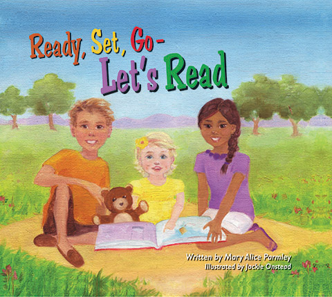 Front Cover of Ready, Set, Go...Let's Read