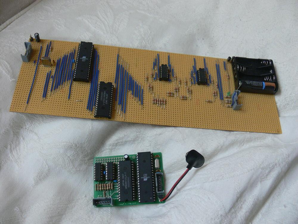 Prototipo del 2006 da  http://www.raspberrypi.org/raspberry-pi-2006-edition/