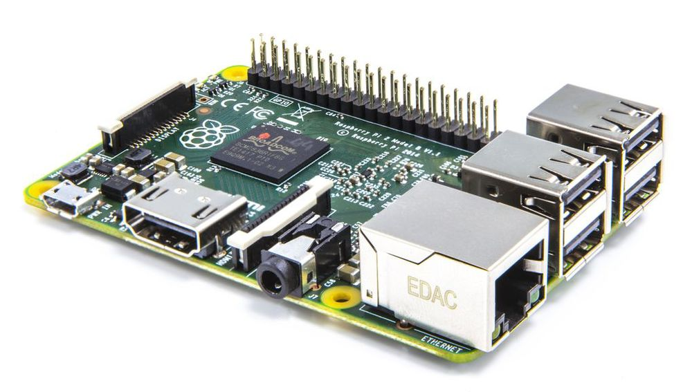 Raspberry Pi 2 da  http://www.theverge.com/2015/2/2/7954617/raspberry-pi-2-announced-on-sale