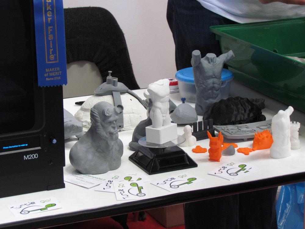 Oggetti stampati in 3D