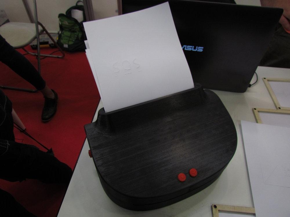 Stampante braille