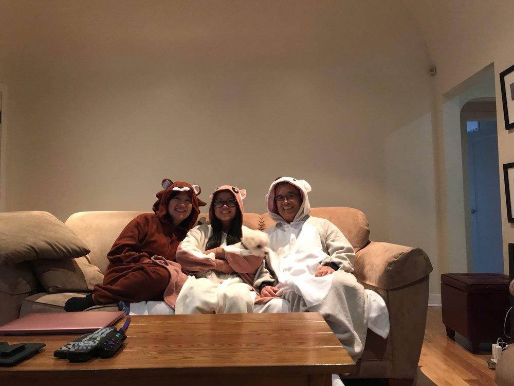 Naomi Kageyama and Family