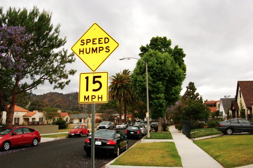 LADOT Speed Hump Program   The Speed Hump Program opens up a review cycle every 6 months to take petitions for speed humps.The speed hump application window  will open September 12 at 8 a.m. PST.