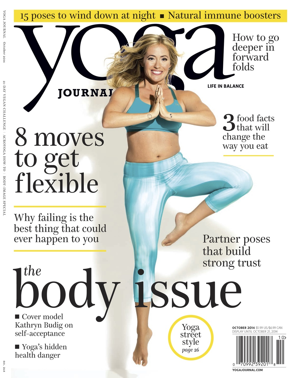 October 2014 - Yoga Journal cover - Fabletics.jpg