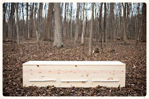 follow these casket building plans to make the rectangular simple pine box shown here