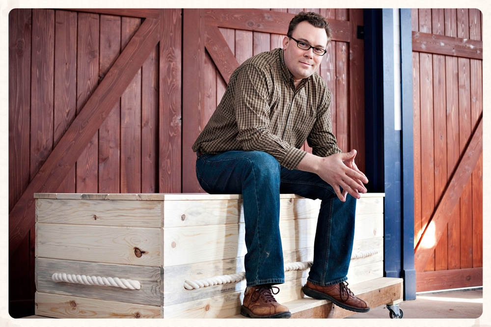 Jonas Zahn, founder of Northwoods Casket Co., said he has always been interested in recycling, repurposing and sustainability. His caskets, like the metal-free Simple Pine Box, are made with Wisconsin-sourced wood.
