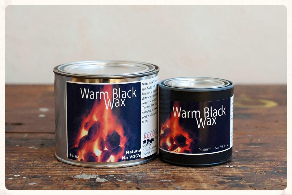 Warm Black Wax is 100% VOC-free.