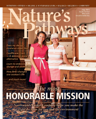 The lovely ladies of Northwoods Casket Co. made the cover of Nature's Pathways Magazine.
