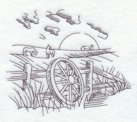 Wagon Wheel Cap Panel Northwoods Casket Company