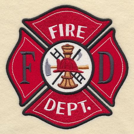 fireman crest cap panel northwoods casket company