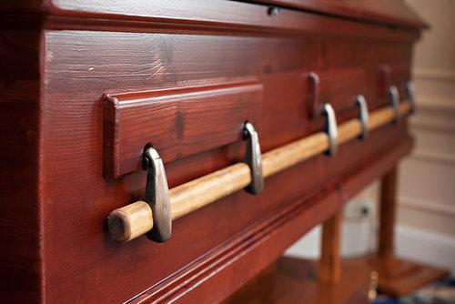 swingbar casket handle brackets, w/o adapter — northwoods casket company