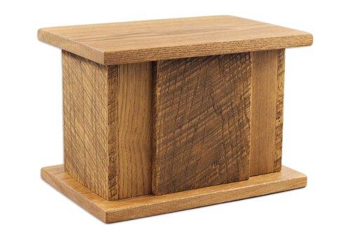 Heirloom Oak Urn Northwoods Casket Company - Casket coffee table