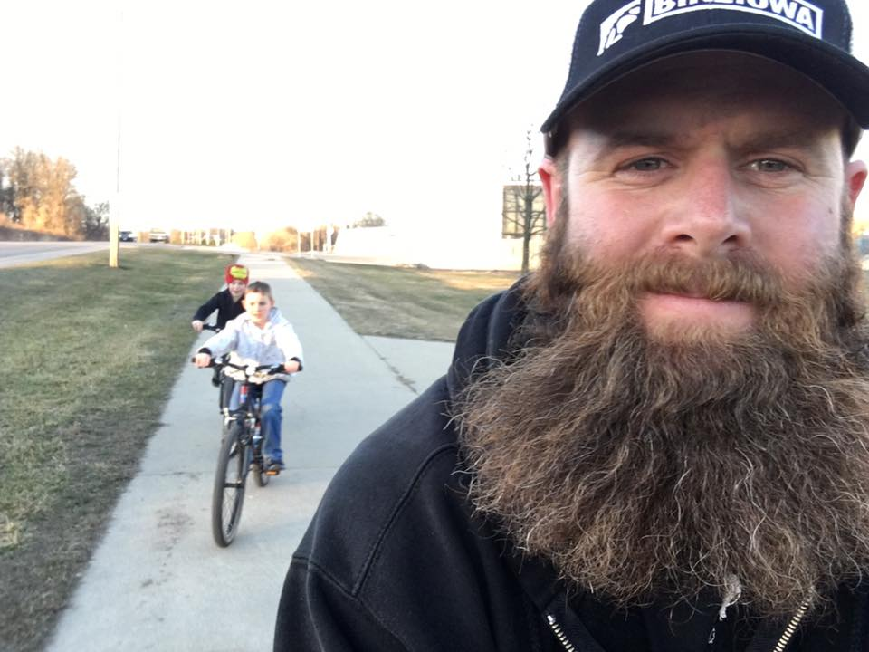 The beard says it all!