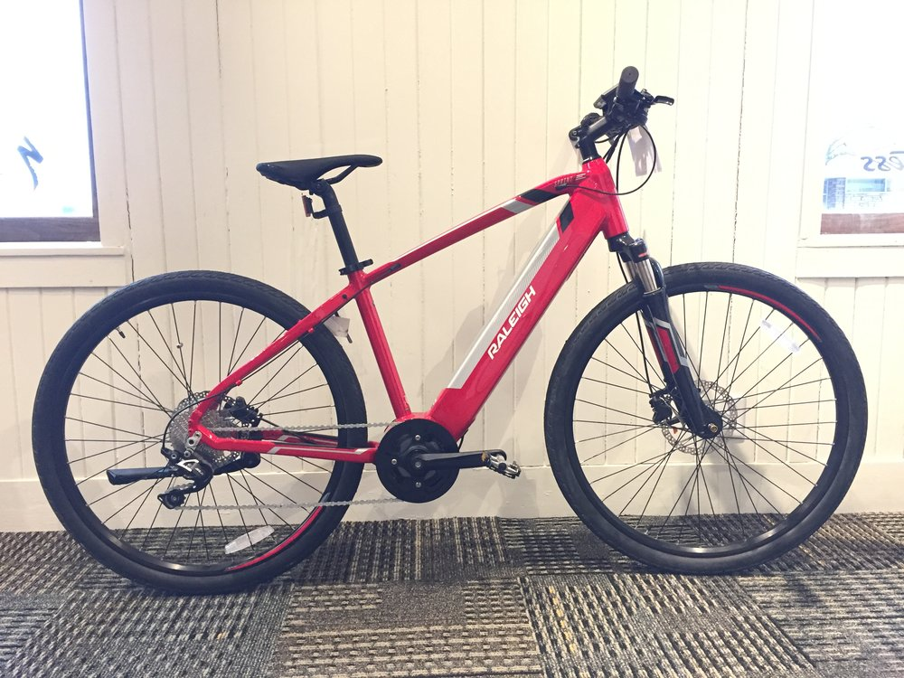 Raleigh Sprint IE | Electric Assist | Red | Med | Original $2999 | Now $2399